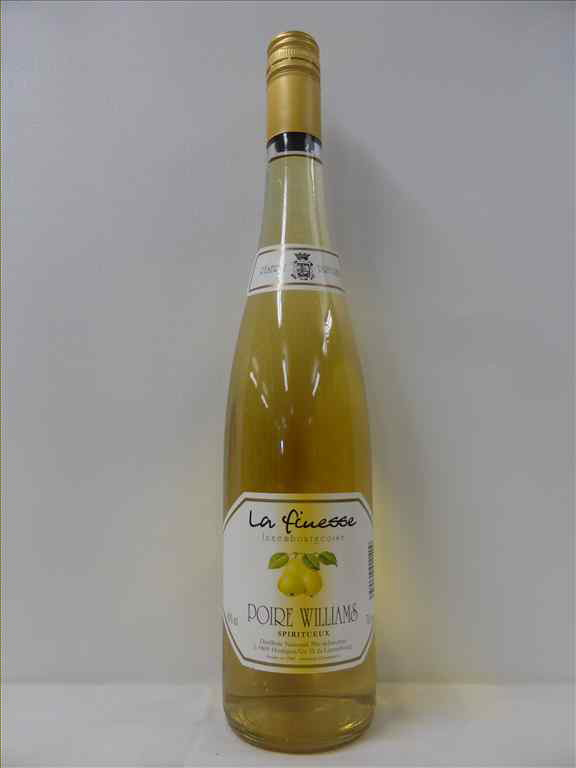 POIRE WILLIAM LA FINESSE 40% EN FLUTE